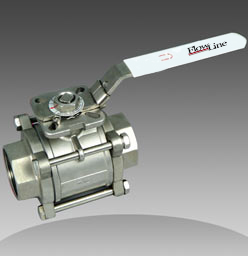 series 62 3 piece direct mount ball valves