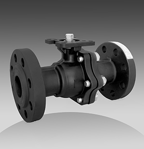 series 64 flanged floating ball valves