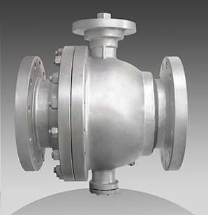 series 65 flanged trunnion ball valves
