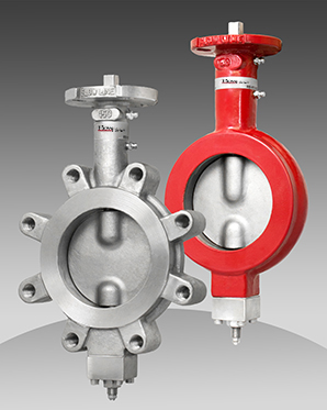 series 74/75 metal seated butterfly valve